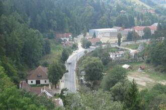 la munte in Romania